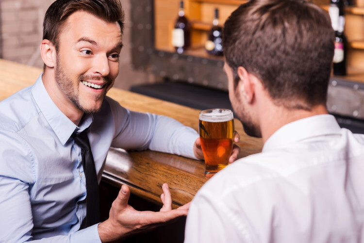 pitching business ideas in social situations