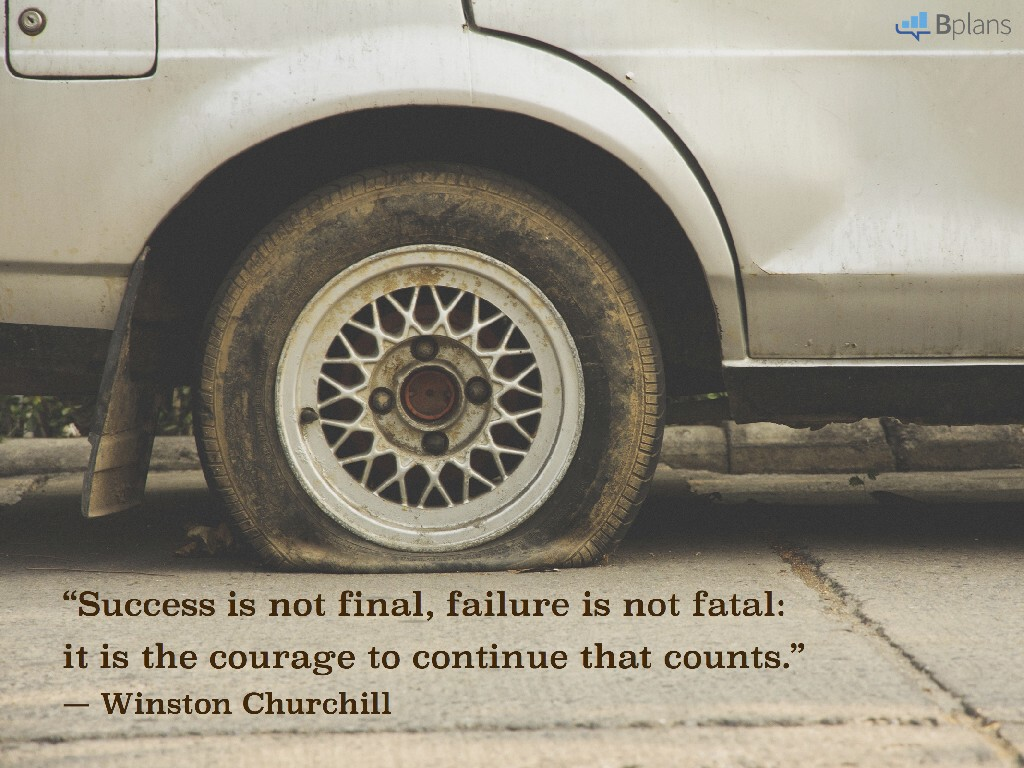 """""""Success is not final, failure is not fatal: it is the courage to continue that counts."""" — Winston Churchill; Tweet this!"""
