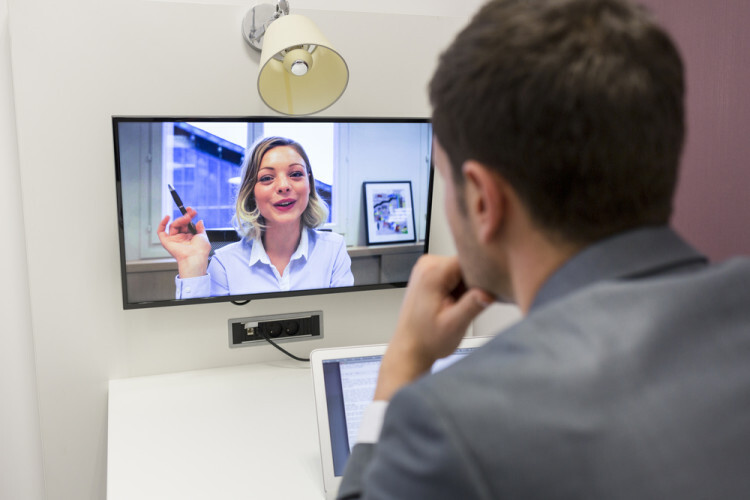 Schedule a brief Skype chat before you