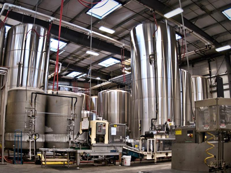 Today, Nikasi has some serious brewing facilities.