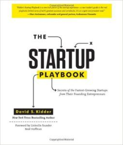 the startup playbook
