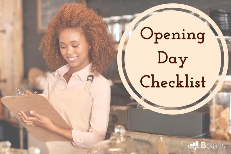 Opening Day Checklist