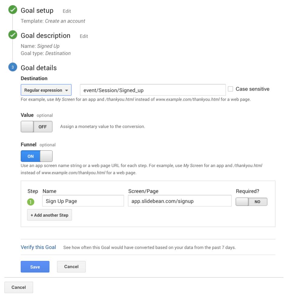 Conversions in Google Analytics